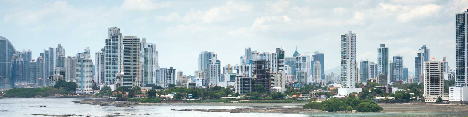 Panama Paisagem Cidade e Mar Grandes casas de luxo. Apartamentos na cidade. Para alugar ou vender
